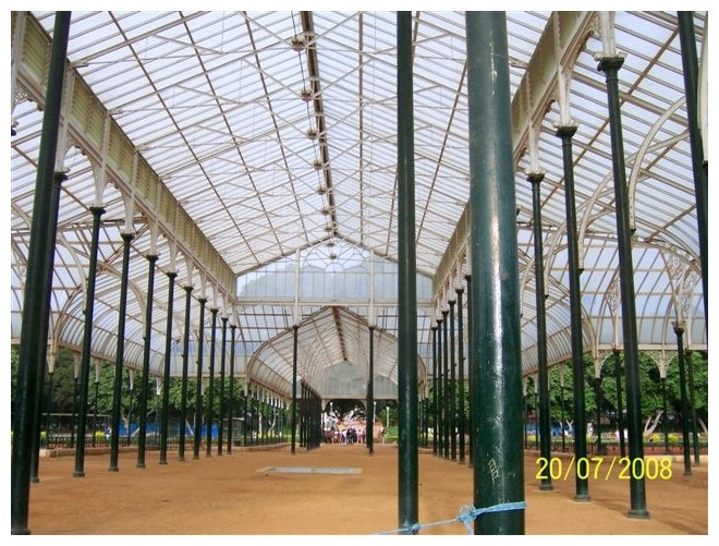 Lalbagh - Glass house