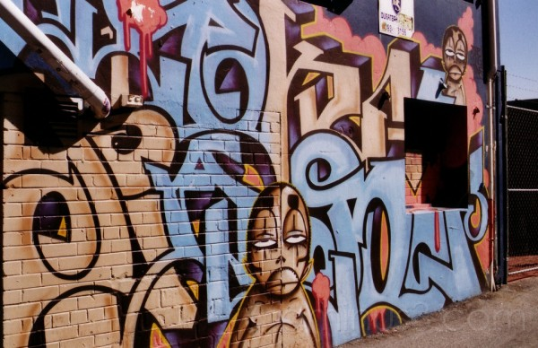 Graffiti Art - Northbridge, Western Australia