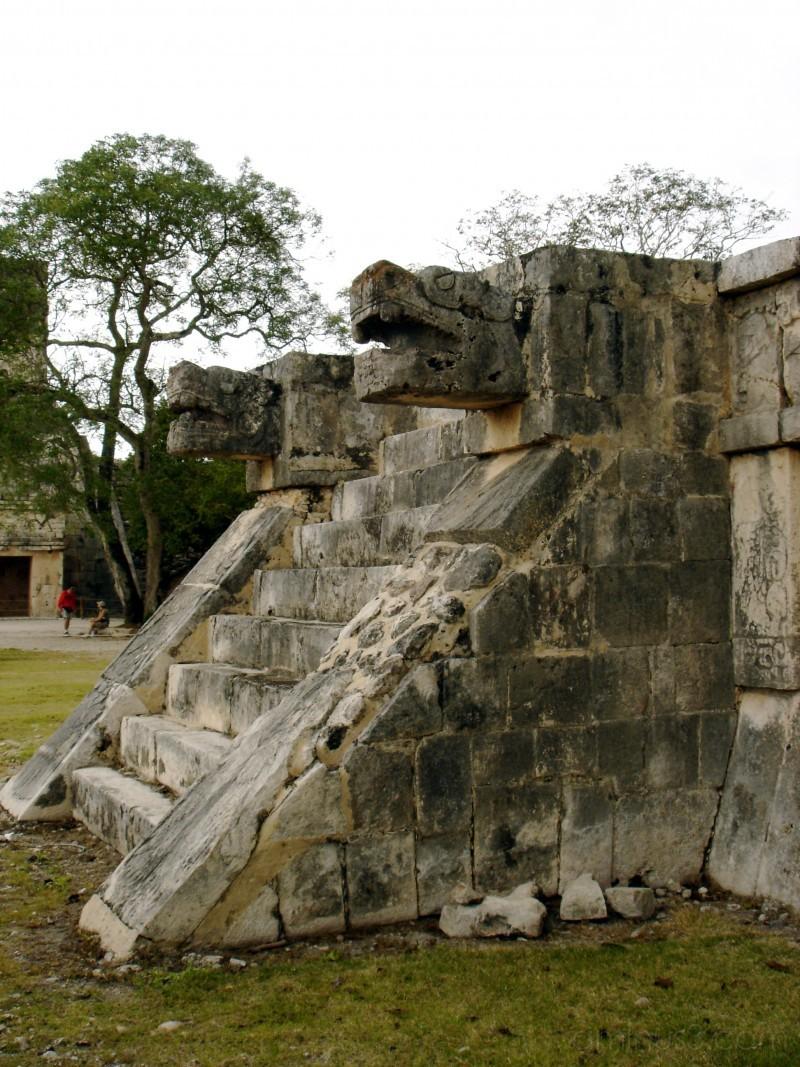 Mayan Ruins in Chichen Itza, Mexico