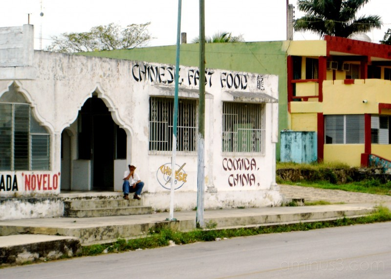 Chinese food in Mexico..