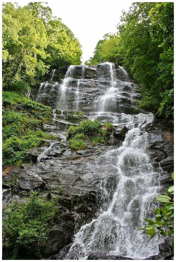 Waterfall at Georgia mountains