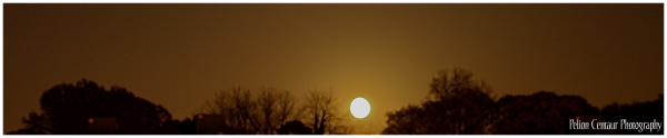 Super moon over Atlanta, part 2