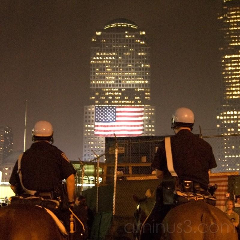 World Trade Center ground zero
