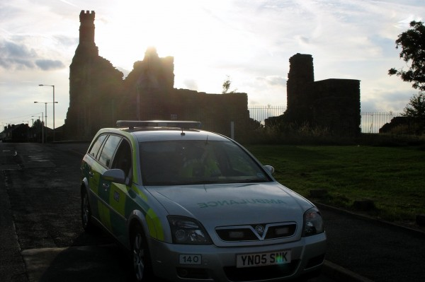 Sunset over Manor Castle