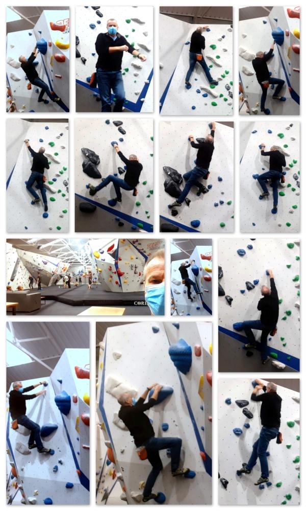 Last climb..