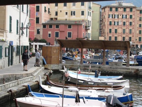 Camogli - port