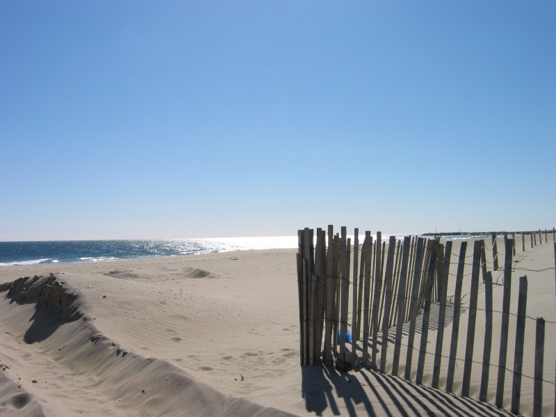 """Winter Beach"" ""Manasquan"""