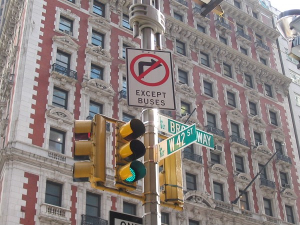 42nd Street & Broadway