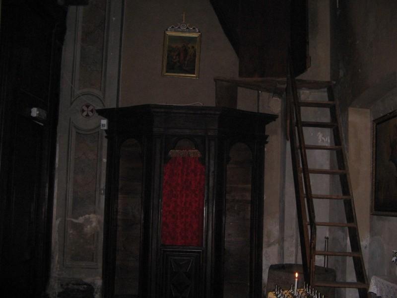 Quarna Sopra confessional