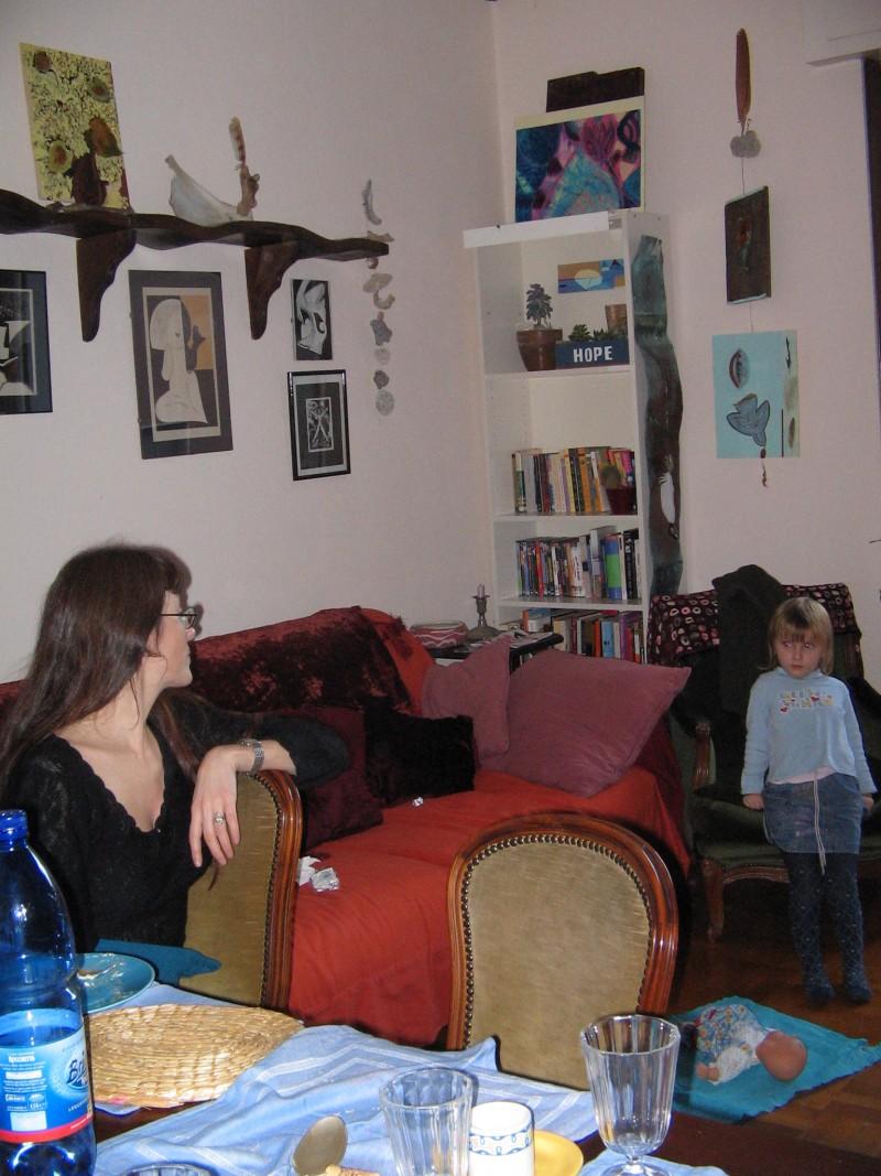 mother, daughter, dolls