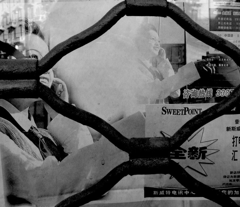 Chinatown window Milan
