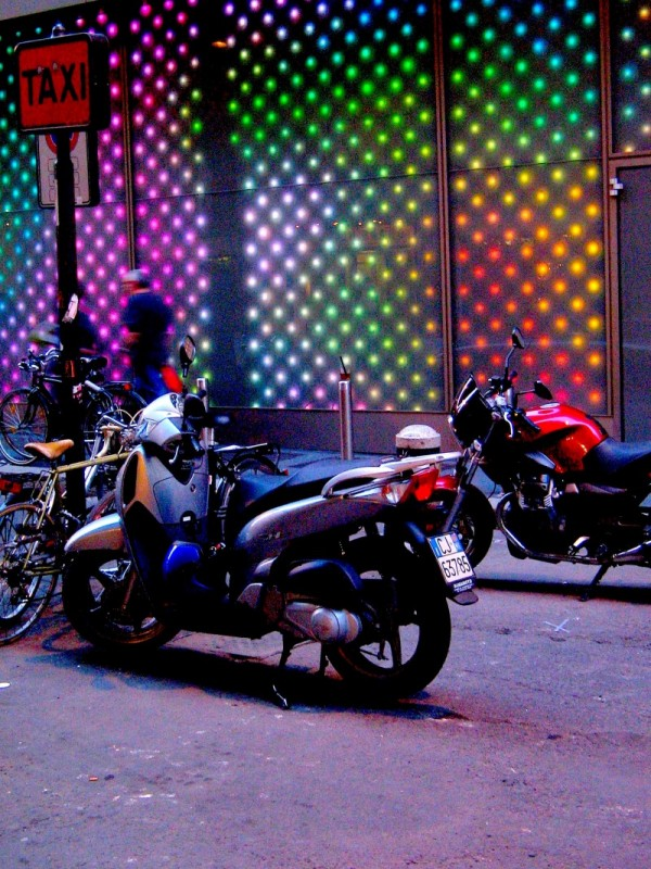 Psychedelic Motorcycle