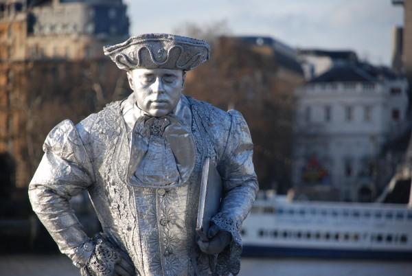 Man near the London Eye