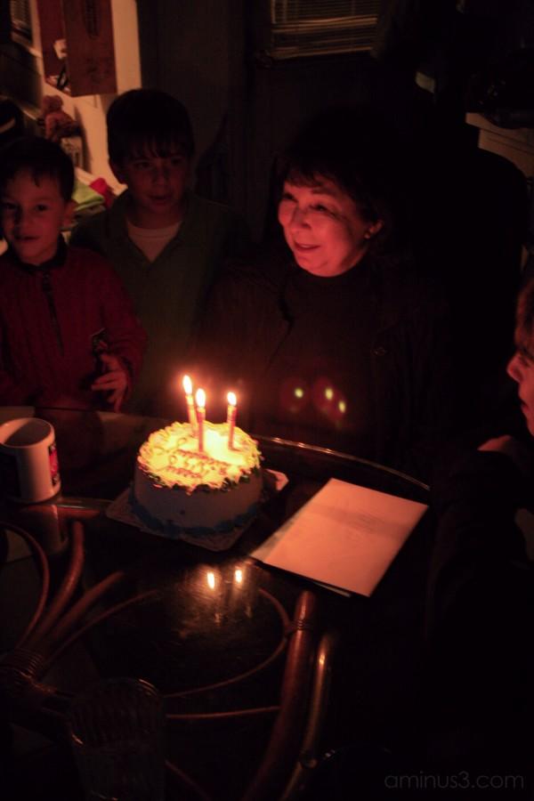 Happy ( belated ) Birthday Mom !