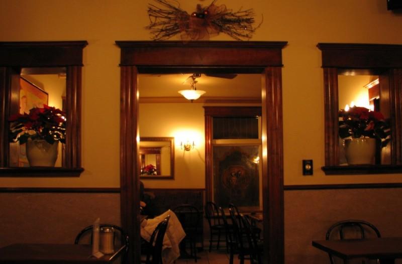 interior view café krieghoff