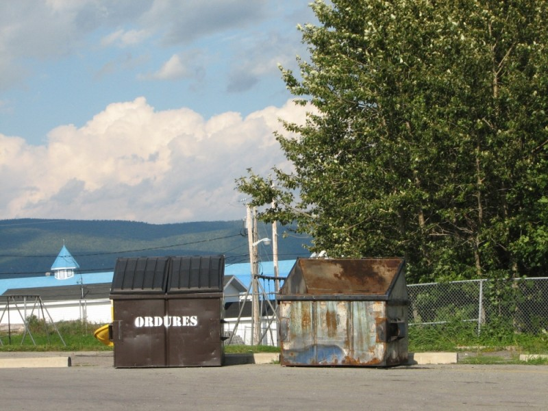 old and new on gaspe