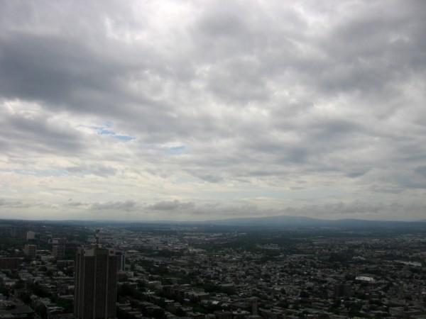 vue de l'observatoire de québec