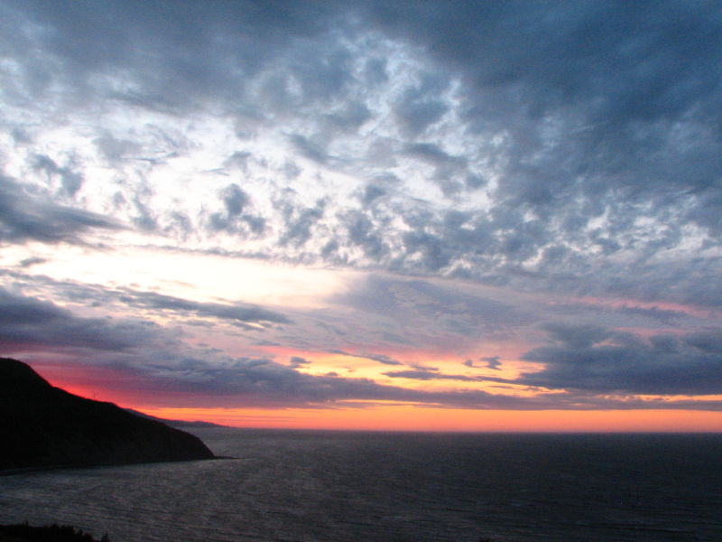 sunset on Fame Point