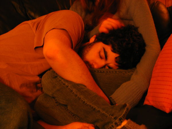 little nap on love one's lap