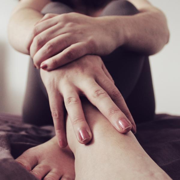 selfportrait - intimacy - feet