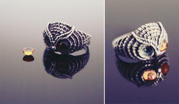 broken owl ring