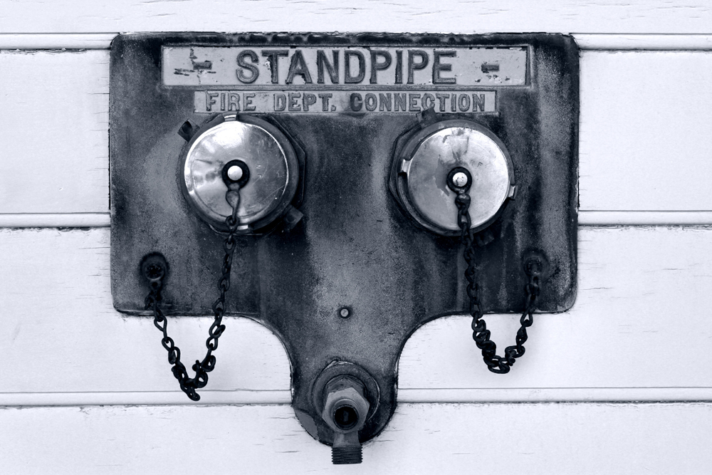 standpipe or gaz mask