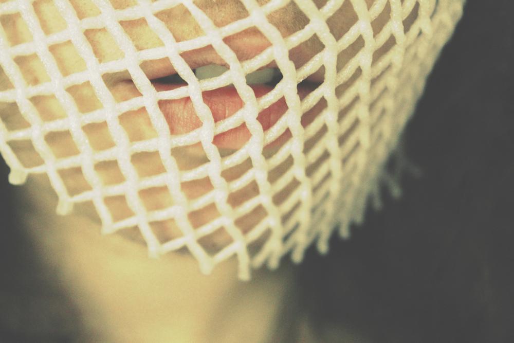 fenced selfportrait
