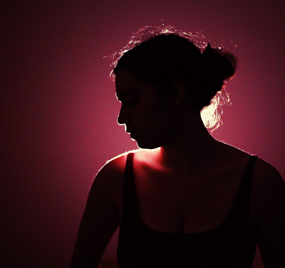 selfportrait - into the light