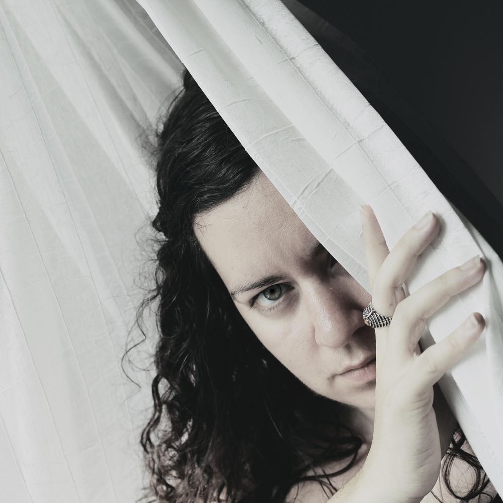 self portrait - hiding