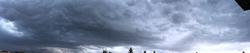 Ciel orageux sur Québec
