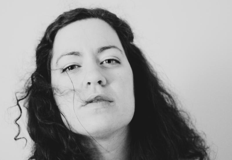 self portrait in black and white