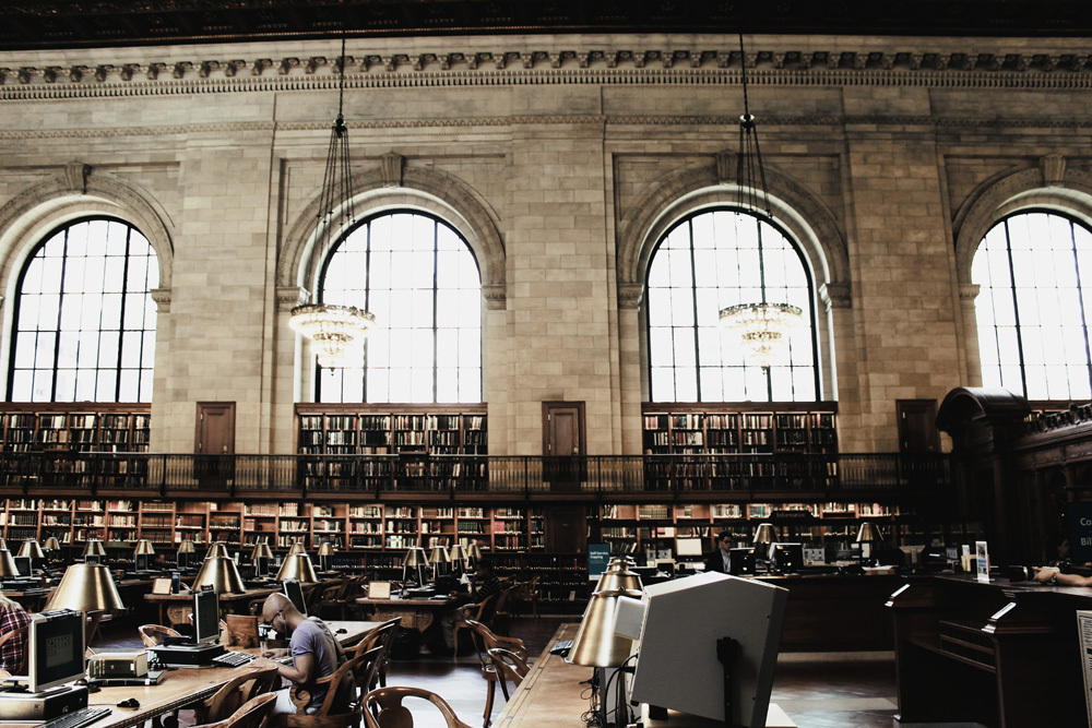 NYC public library