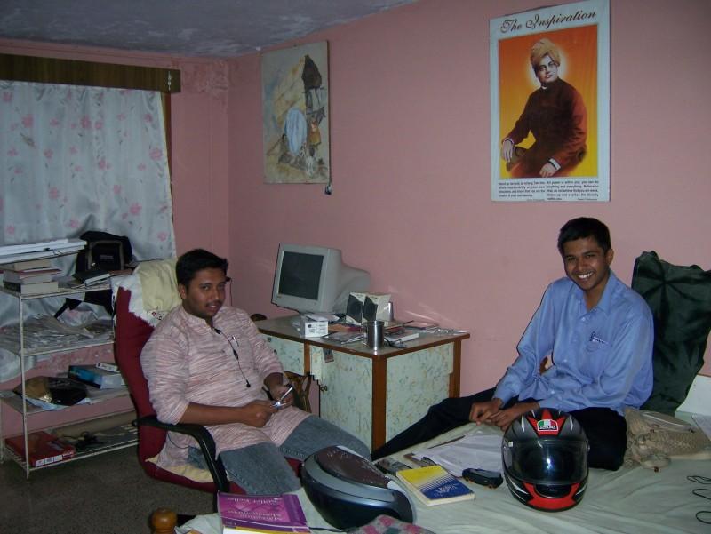 me & prashanth