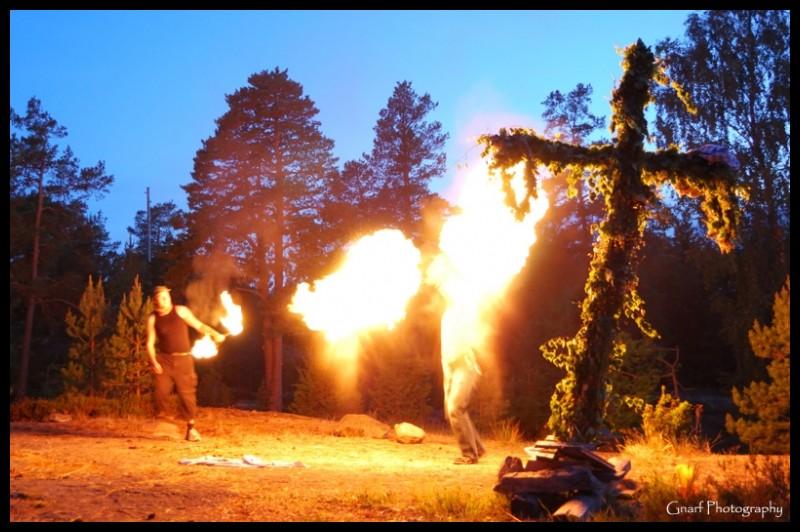Midsummer Fire Show