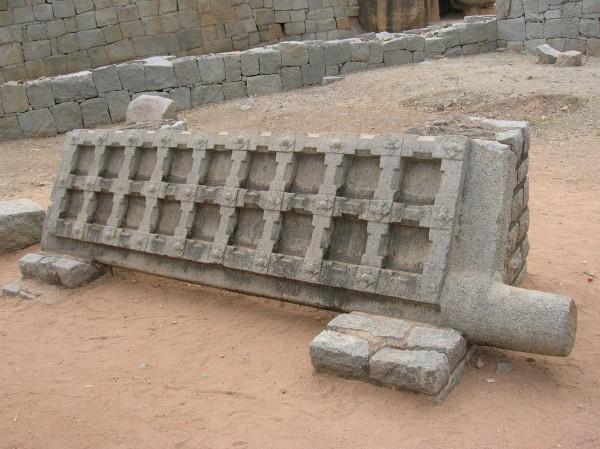 The stony door