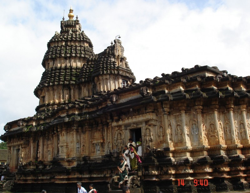 Another view of Sringeri temple