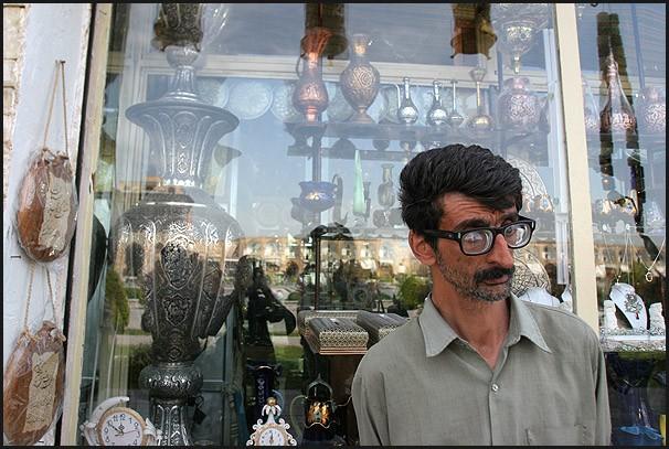 Antique shop in Esfahan - IRAN