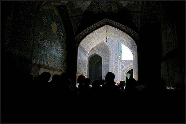Shah mosque in Esfahan - IRAN (3)