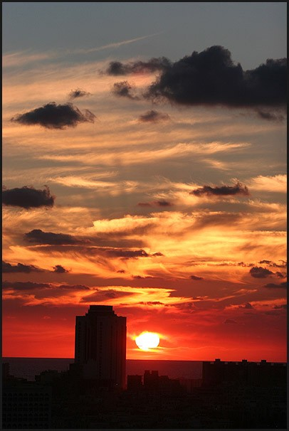Sunset in Tripoli - Libya