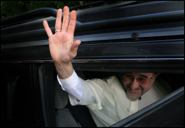 Mr Khatami ( Ex-president of Iran )