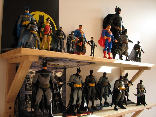 Great wall of toys, Batman!