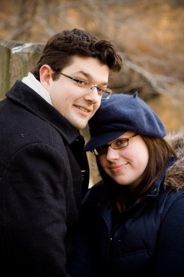 Christina and Geoff I