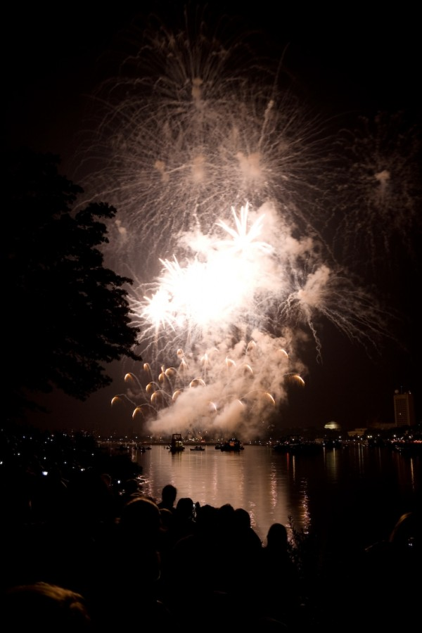 Fireworks over the Charles River I, Boston