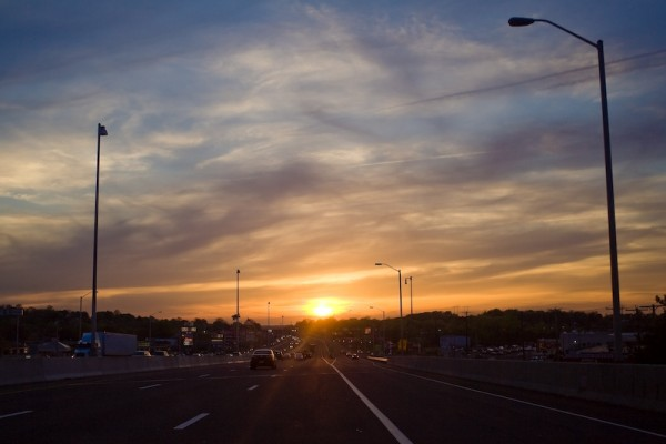 Sunset on 95, revisited