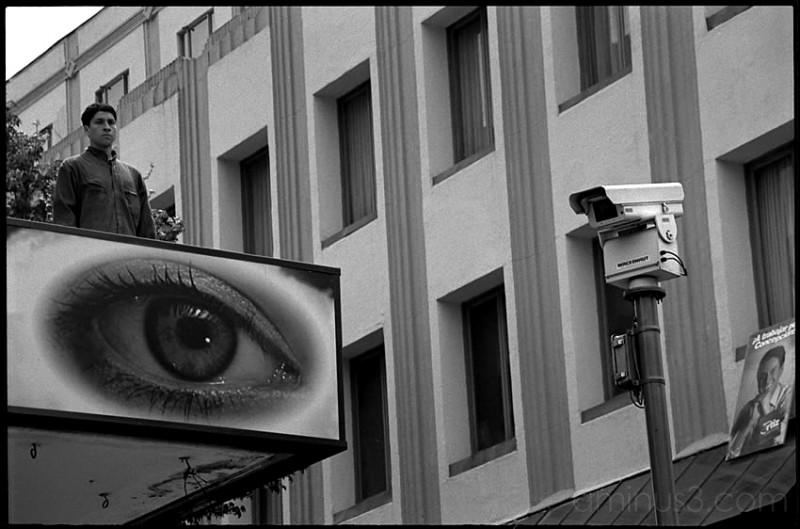 Ojo, eyes control