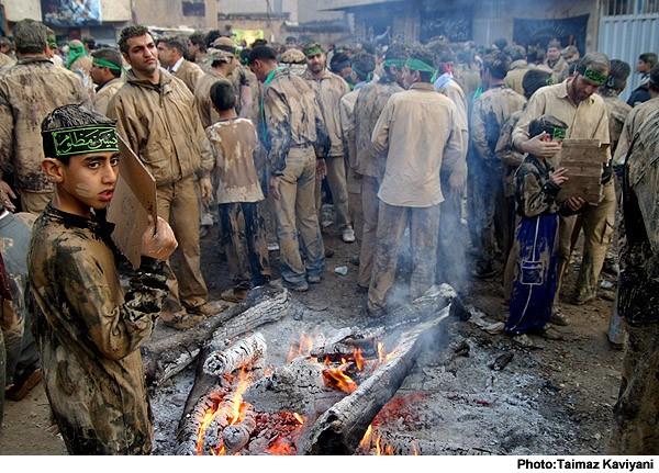 Mourning in Ashura-KHoramabad-Iran
