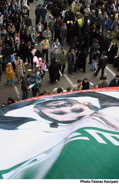 Rallies in Tehran on Bahman 22, marking the annive