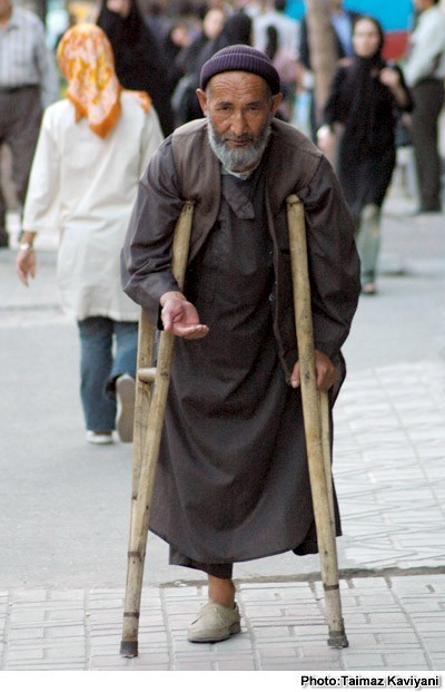 beggar- Tehran