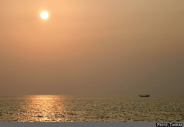 The Sunset Of Persian Gulf