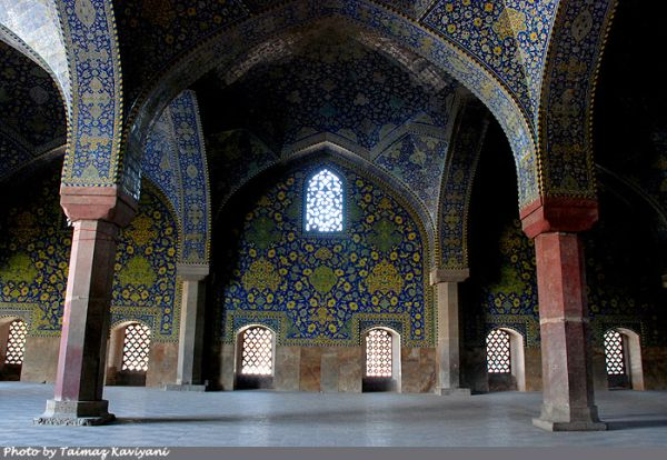 The Shah Mosque, Isfhan, Iran [4]